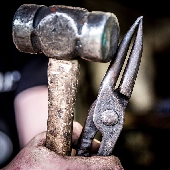 Tools of a Kent Blacksmith