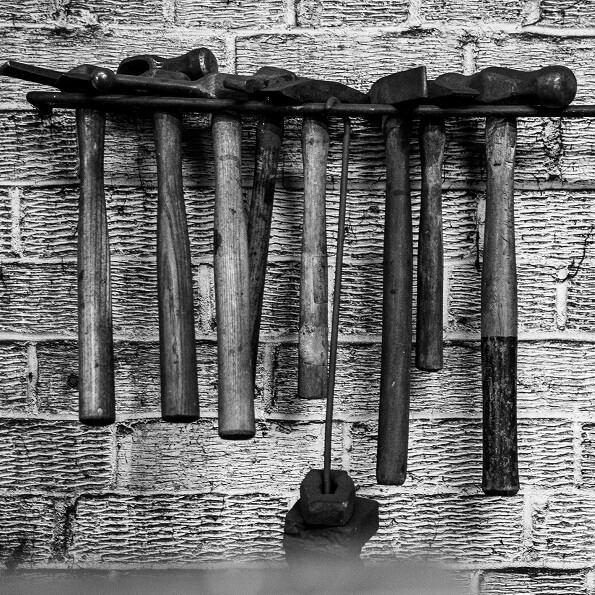 Hammers - Tools of a Dartford Blacksmith